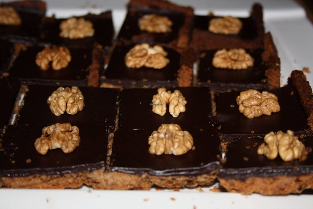 """Photo of Seneville Cafe  by <a href=""""/members/profile/alexandra_vegan"""">alexandra_vegan</a> <br/>Amorino (belgian chocolate pie with walnut) - vegan <br/> May 4, 2016  - <a href='/contact/abuse/image/70291/147473'>Report</a>"""