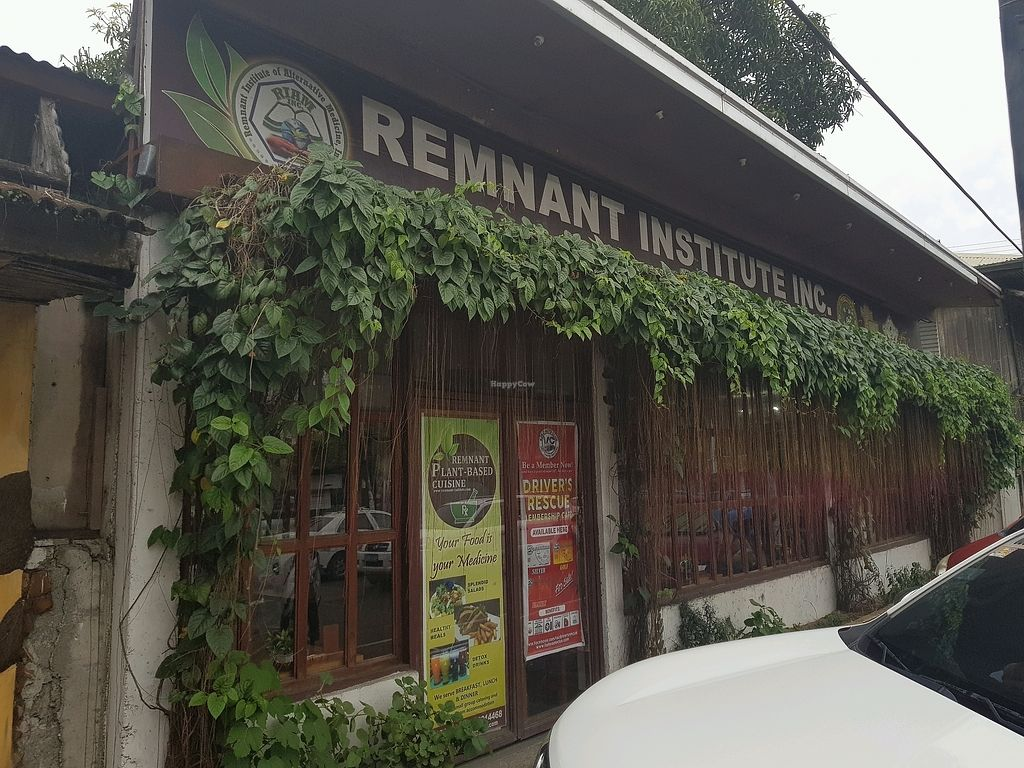 """Photo of Remnant Institute Vegetarian Cuisine  by <a href=""""/members/profile/LuckyParadise"""">LuckyParadise</a> <br/>front <br/> December 16, 2017  - <a href='/contact/abuse/image/70300/336001'>Report</a>"""