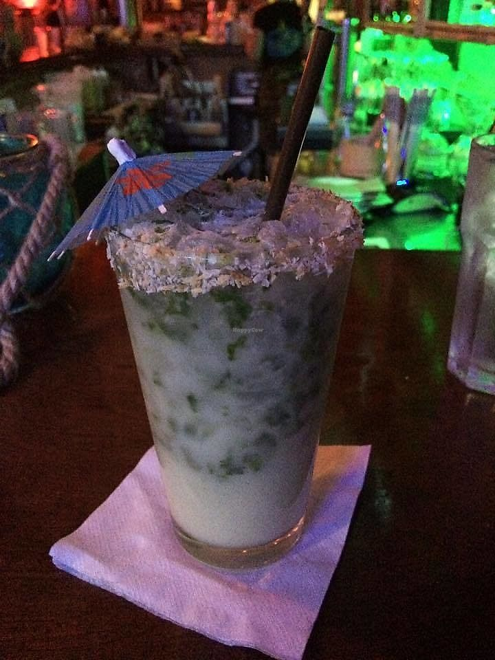 "Photo of No Bones Beach Club  by <a href=""/members/profile/TheModernHerbivore"">TheModernHerbivore</a> <br/>coconut mojito <br/> August 9, 2017  - <a href='/contact/abuse/image/70318/290637'>Report</a>"