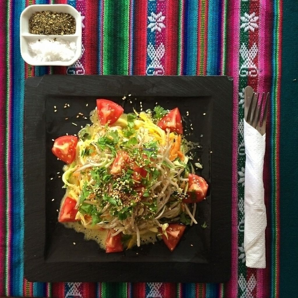 "Photo of Nomad Cafe  by <a href=""/members/profile/OlegNadymov"">OlegNadymov</a> <br/>Raw vegetable salad <br/> March 18, 2017  - <a href='/contact/abuse/image/70333/237791'>Report</a>"