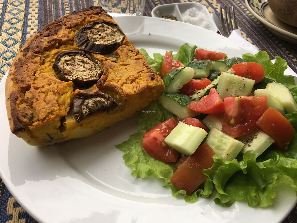 "Photo of Nomad Cafe  by <a href=""/members/profile/MollyKennedy"">MollyKennedy</a> <br/>Curry quiche <br/> January 28, 2018  - <a href='/contact/abuse/image/70333/351771'>Report</a>"