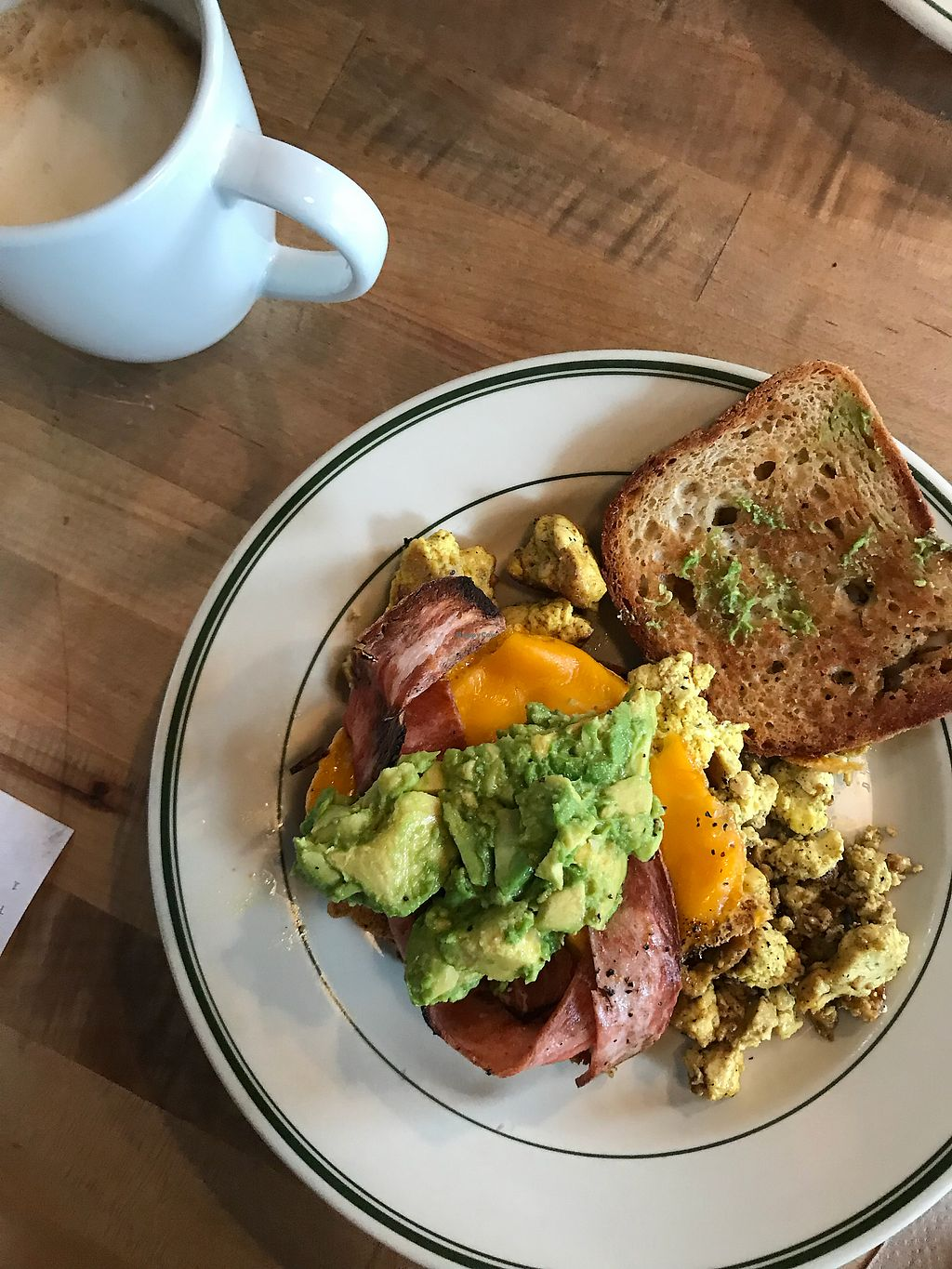 "Photo of The Butcher's Son  by <a href=""/members/profile/Mar%C3%ADaFern%C3%A1ndez"">MaríaFernández</a> <br/>From the brunch menu: #thisismyaddiction (gf option) <br/> March 19, 2018  - <a href='/contact/abuse/image/70334/372712'>Report</a>"