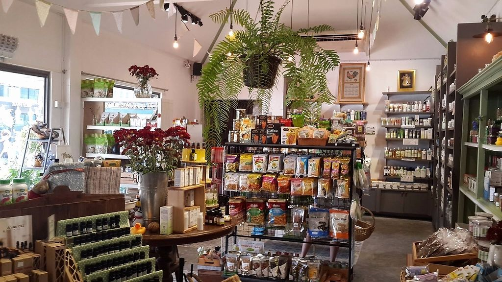 """Photo of Urban Green  by <a href=""""/members/profile/lotus.light"""">lotus.light</a> <br/>Shops looks nice but lack of vegan products <br/> March 20, 2017  - <a href='/contact/abuse/image/70348/238729'>Report</a>"""