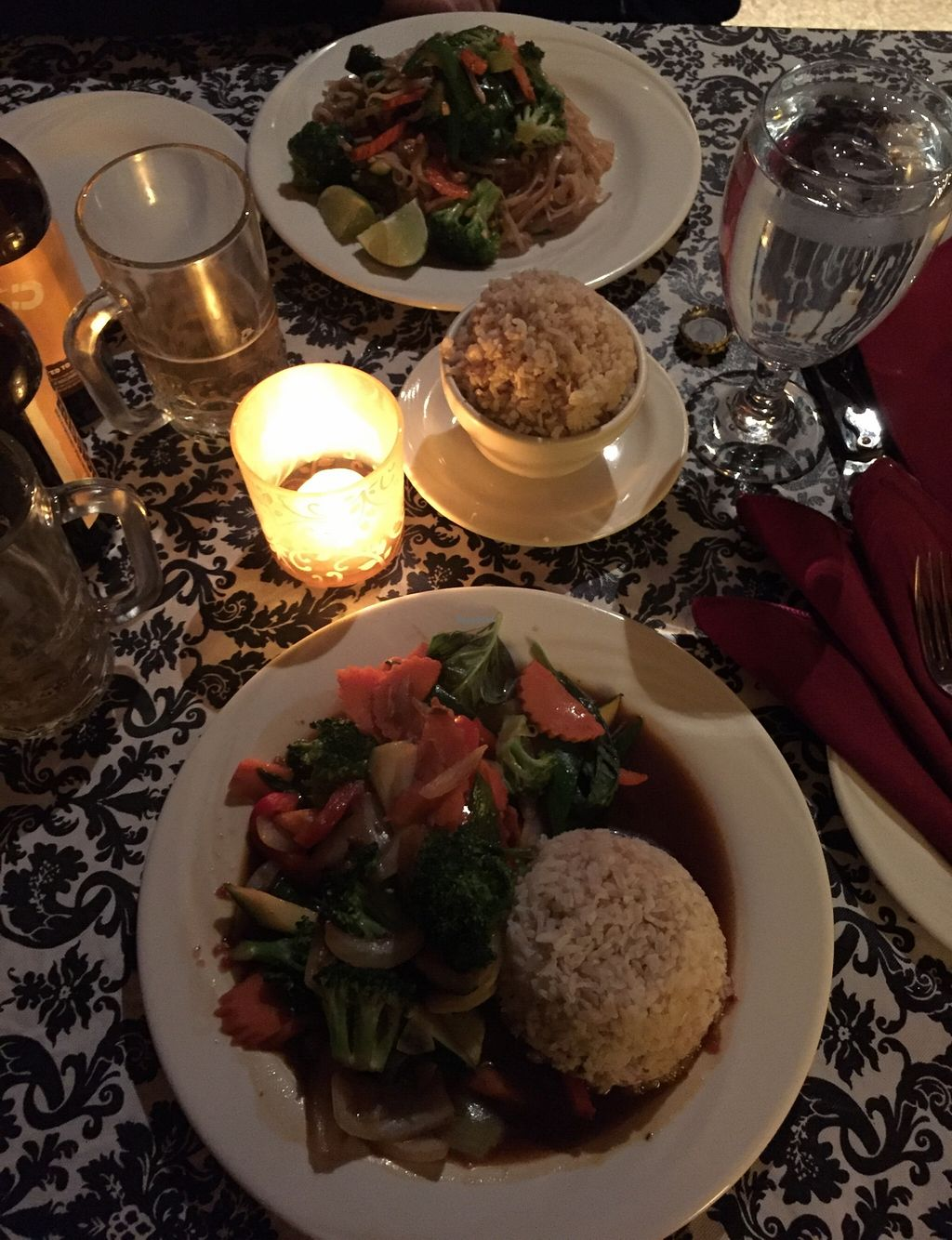 "Photo of Thai Tida  by <a href=""/members/profile/AshleyxMichelle"">AshleyxMichelle</a> <br/>Vegan Gluten Free Pad Thai and Vegan Gluten Free Thai Basil Stir-Fry <br/> March 1, 2016  - <a href='/contact/abuse/image/70357/138364'>Report</a>"