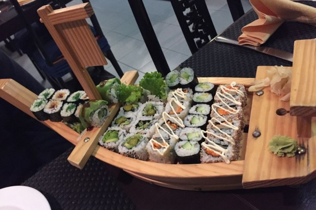 "Photo of Asia Fusion Sushi  by <a href=""/members/profile/VenusVegan"">VenusVegan</a> <br/>Vegan sushi  <br/> March 2, 2016  - <a href='/contact/abuse/image/70380/138477'>Report</a>"