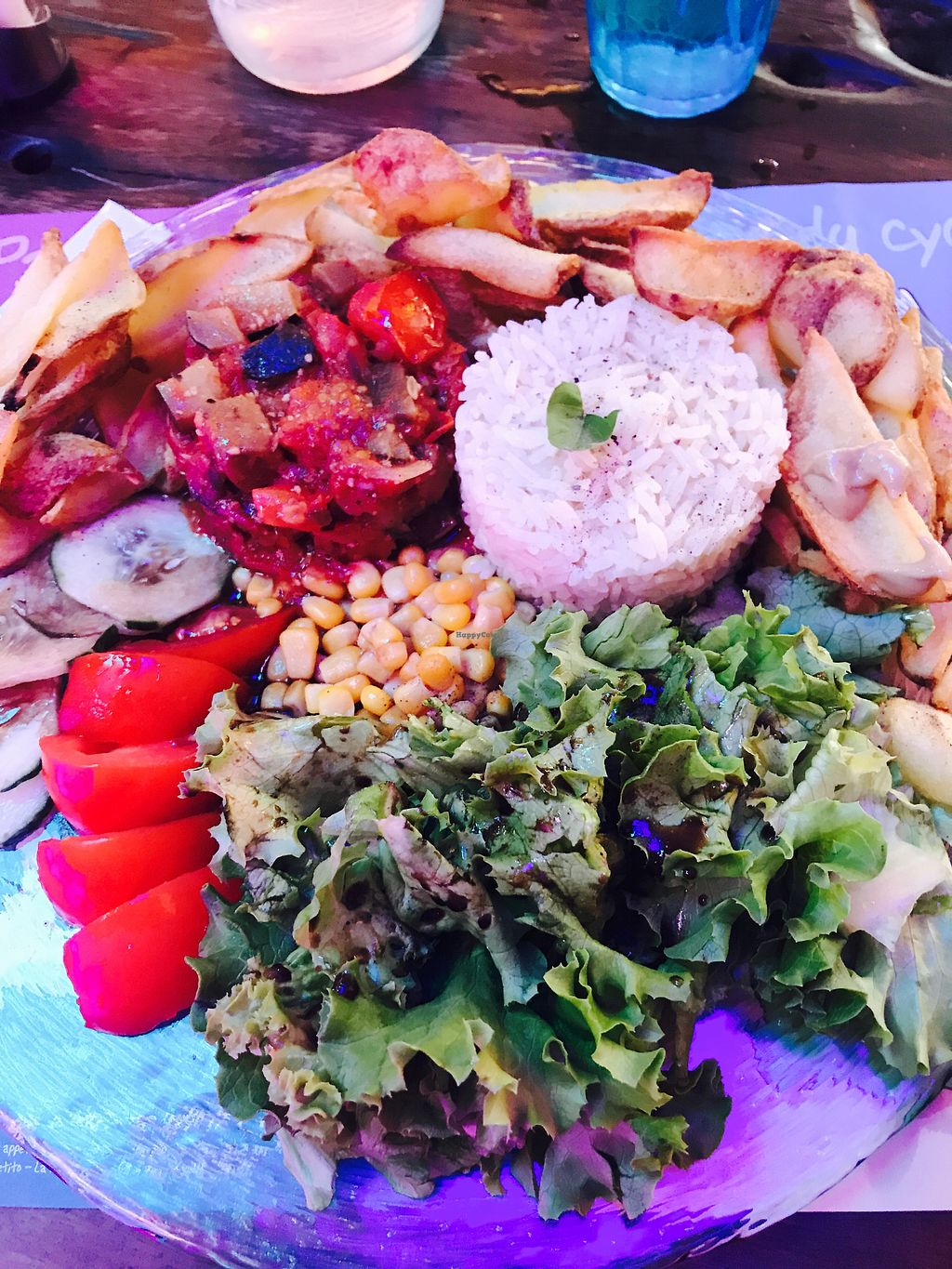 """Photo of Cosy Lunch  by <a href=""""/members/profile/LazyVegan"""">LazyVegan</a> <br/>L'assiette vegan <br/> July 28, 2017  - <a href='/contact/abuse/image/70382/285760'>Report</a>"""