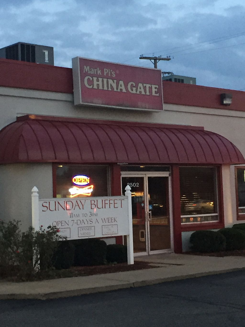 """Photo of Mark Pi's China Gate  by <a href=""""/members/profile/KristenRenee"""">KristenRenee</a> <br/>Front  <br/> October 25, 2017  - <a href='/contact/abuse/image/70396/318899'>Report</a>"""