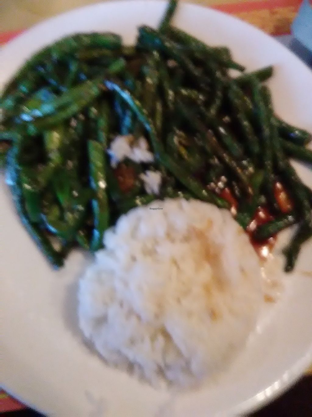 """Photo of Mark Pi's China Gate  by <a href=""""/members/profile/Williamewq123ify"""">Williamewq123ify</a> <br/>Mala String Beans (already vegan and on the menu) <br/> January 17, 2018  - <a href='/contact/abuse/image/70396/347476'>Report</a>"""