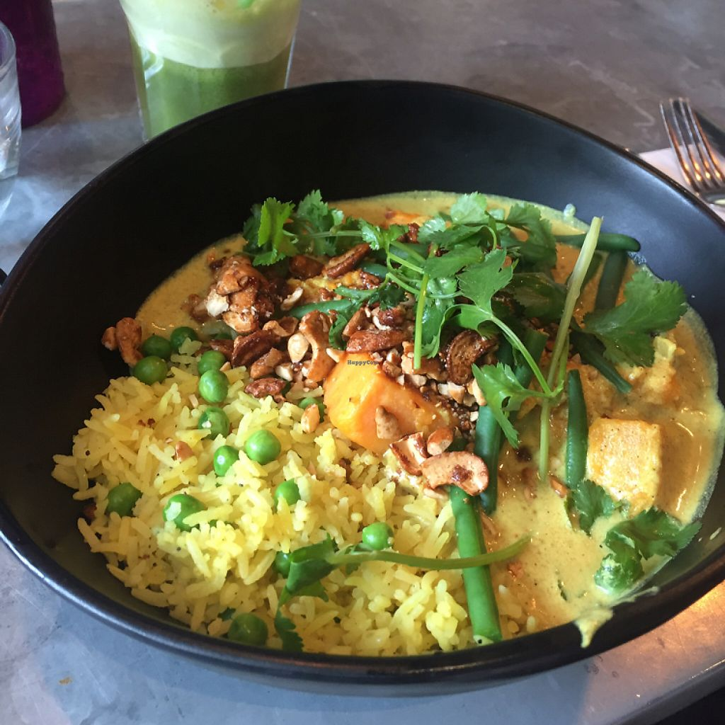 "Photo of Mildreds - Kings Cross  by <a href=""/members/profile/Bea_lc"">Bea_lc</a> <br/>vegan sweet potato Thai curry  <br/> June 4, 2017  - <a href='/contact/abuse/image/70439/265799'>Report</a>"