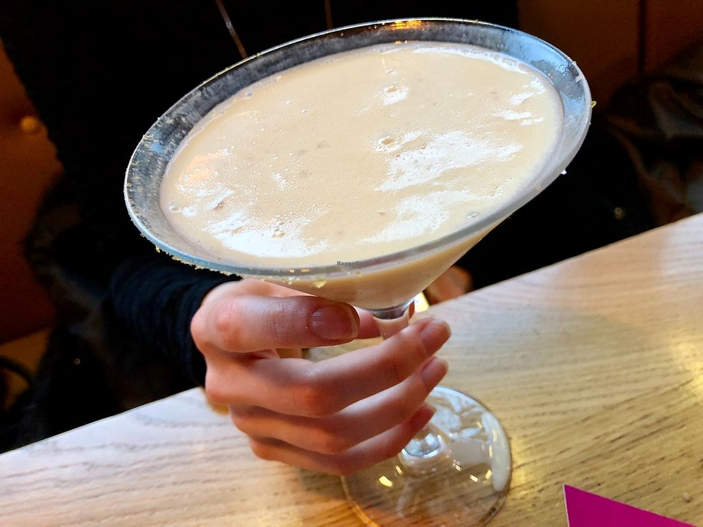 "Photo of Mildreds - Kings Cross  by <a href=""/members/profile/marky_mark"">marky_mark</a> <br/>banana 'martini' <br/> April 10, 2018  - <a href='/contact/abuse/image/70439/383399'>Report</a>"