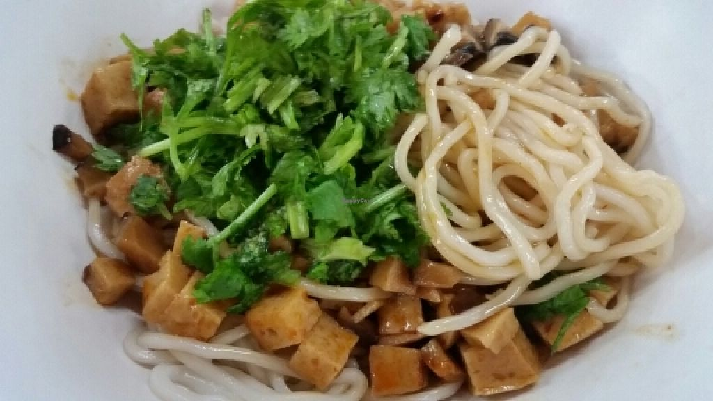 """Photo of CLOSED: Su Xin Zhai - Food Stall  by <a href=""""/members/profile/JimmySeah"""">JimmySeah</a> <br/>mixed sauce noodle <br/> May 19, 2016  - <a href='/contact/abuse/image/70455/149805'>Report</a>"""