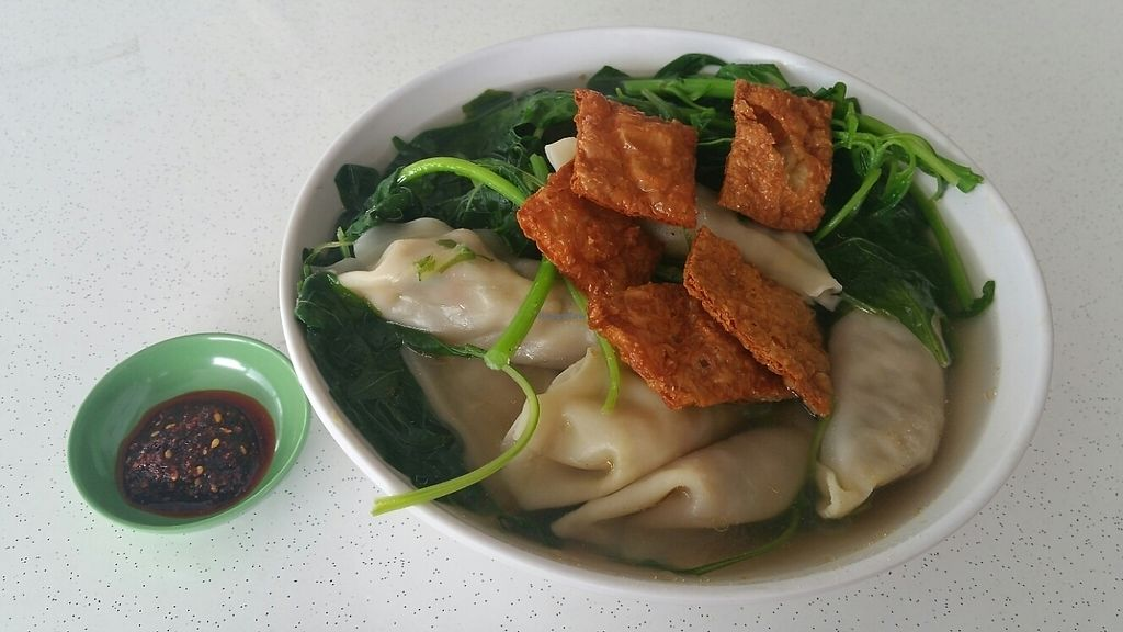 """Photo of CLOSED: Su Xin Zhai - Food Stall  by <a href=""""/members/profile/Vince"""">Vince</a> <br/>Dumpling soup <br/> May 13, 2017  - <a href='/contact/abuse/image/70455/258327'>Report</a>"""