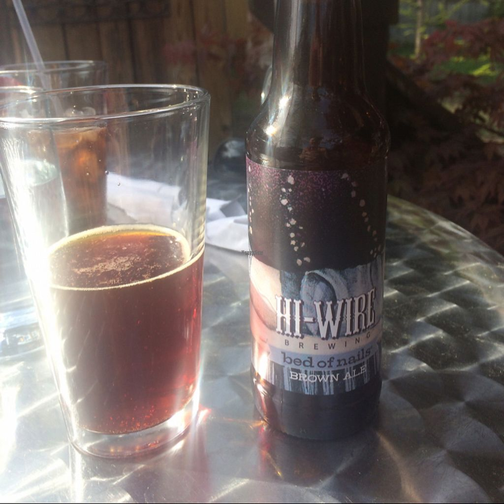 "Photo of La Guinguette  by <a href=""/members/profile/TifK29"">TifK29</a> <br/>local brown beer.   <br/> April 15, 2017  - <a href='/contact/abuse/image/70457/248516'>Report</a>"