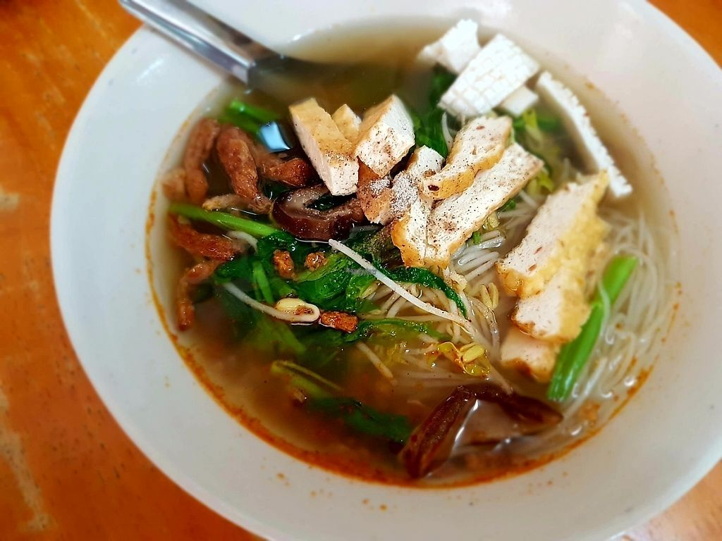 """Photo of Hongming Vegetarian Food  by <a href=""""/members/profile/duckalicious"""">duckalicious</a> <br/>fresh-made noodle soup <br/> February 8, 2017  - <a href='/contact/abuse/image/70471/224386'>Report</a>"""