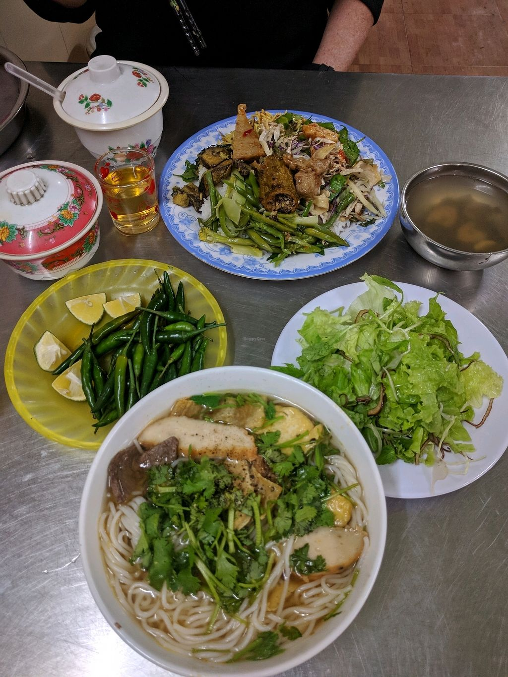 """Photo of Thien An  by <a href=""""/members/profile/mikeandsunny"""">mikeandsunny</a> <br/>Rice dish & noodle dish <br/> January 16, 2018  - <a href='/contact/abuse/image/70473/347227'>Report</a>"""