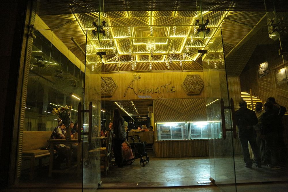 "Photo of Ammaji's Ayurvedic Restaurant  by <a href=""/members/profile/Ammaji%27s"">Ammaji's</a> <br/>Lighting in the evening is simply beautiful! <br/> August 27, 2016  - <a href='/contact/abuse/image/70481/171794'>Report</a>"
