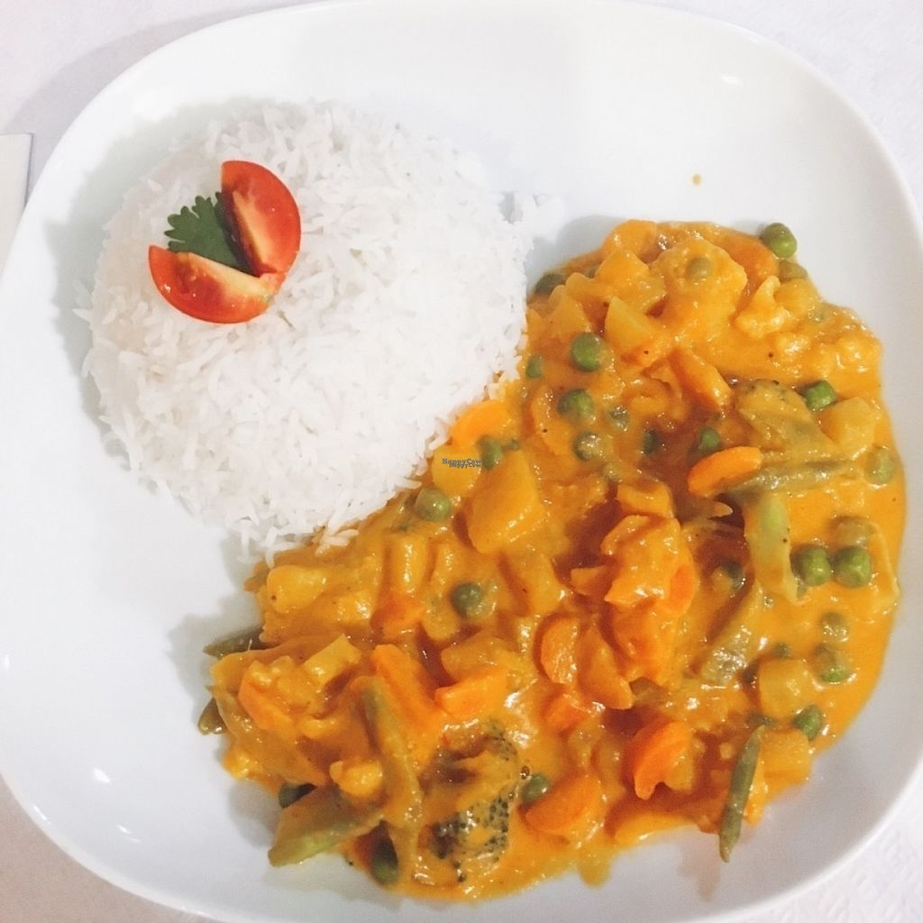 """Photo of Coconuts  by <a href=""""/members/profile/carolinasantos24"""">carolinasantos24</a> <br/>Vegetable curry wig basmati rice  <br/> August 9, 2016  - <a href='/contact/abuse/image/70500/167343'>Report</a>"""
