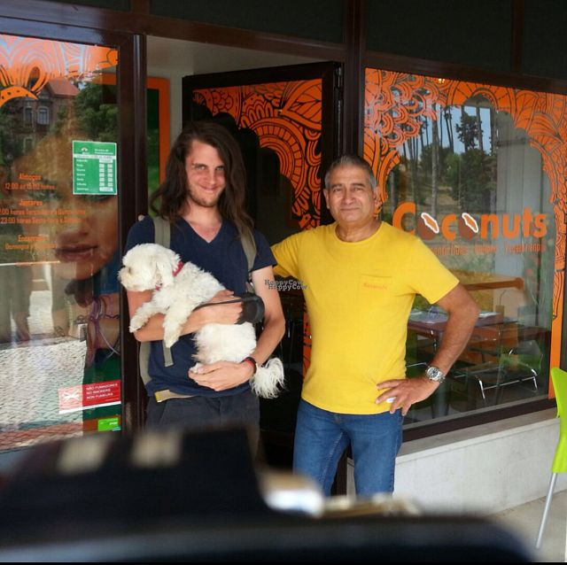 """Photo of Coconuts  by <a href=""""/members/profile/zippper4"""">zippper4</a> <br/>me and the owner. really nice staff really talkative and helpful! <br/> September 9, 2016  - <a href='/contact/abuse/image/70500/174585'>Report</a>"""