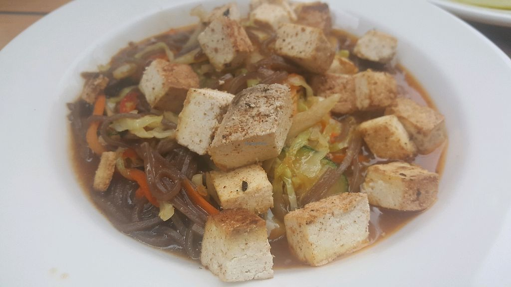"Photo of XYZ the Tavern  by <a href=""/members/profile/Tots"">Tots</a> <br/>Sweet and Spicy Soba Noodles with Tofu <br/> October 14, 2017  - <a href='/contact/abuse/image/70505/315228'>Report</a>"
