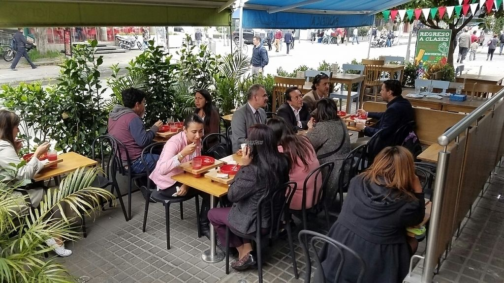 """Photo of CLOSED: The Pot - Calle 90  by <a href=""""/members/profile/kenvegan"""">kenvegan</a> <br/>outdoor seating area <br/> January 18, 2017  - <a href='/contact/abuse/image/70508/213064'>Report</a>"""