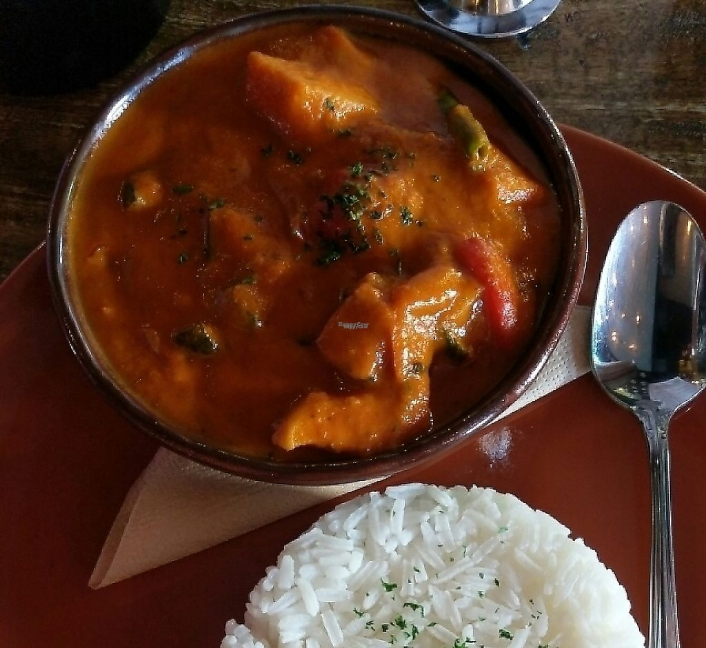 "Photo of The Shaw Davey Slum  by <a href=""/members/profile/Vikki"">Vikki</a> <br/>Vegan Veggie Curry with Rice <br/> February 8, 2017  - <a href='/contact/abuse/image/70510/256105'>Report</a>"