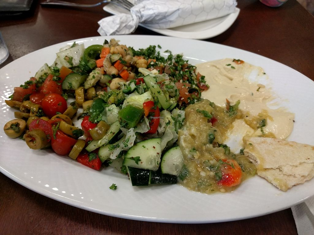 """Photo of Peace Bakery & Deli  by <a href=""""/members/profile/Larkspur"""">Larkspur</a> <br/>1/2 of the veggie platter (all vegan) <br/> March 12, 2016  - <a href='/contact/abuse/image/70521/139761'>Report</a>"""
