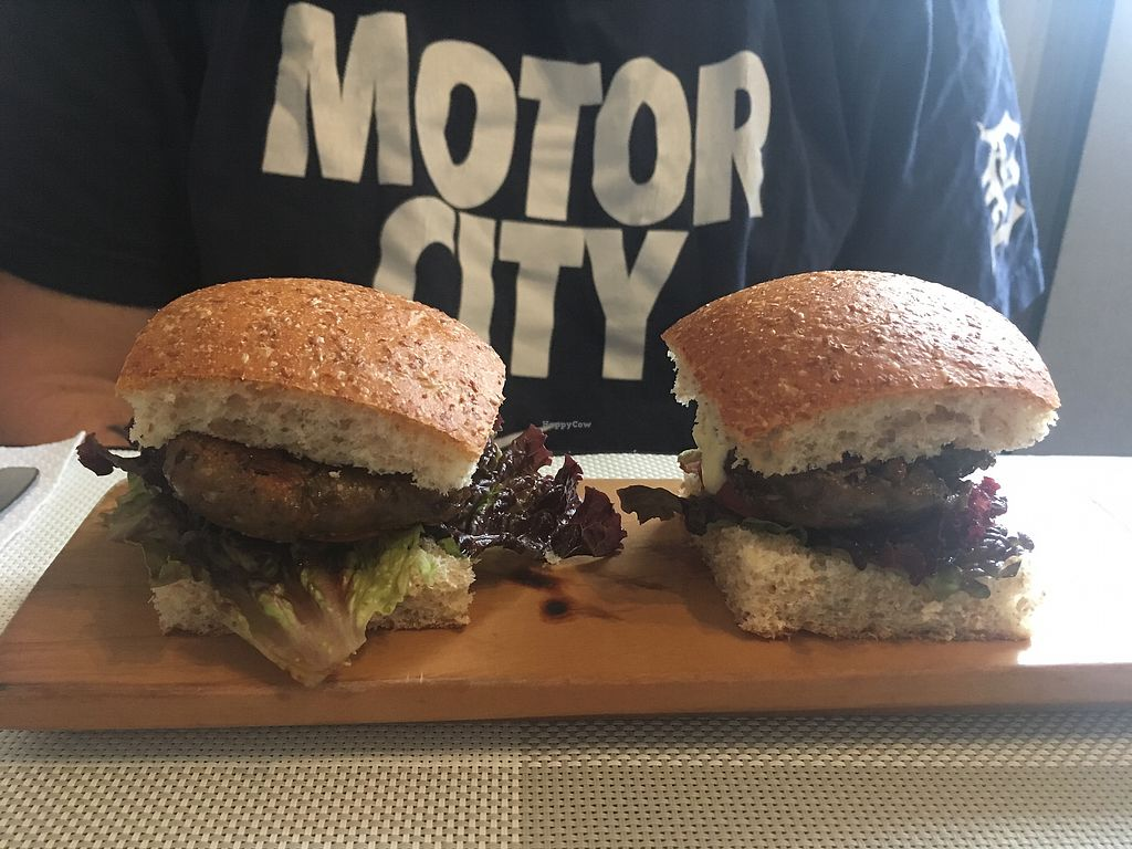 """Photo of Seitan Urban Bistro  by <a href=""""/members/profile/betsylarder"""">betsylarder</a> <br/>Sliders! <br/> September 11, 2017  - <a href='/contact/abuse/image/70536/303351'>Report</a>"""