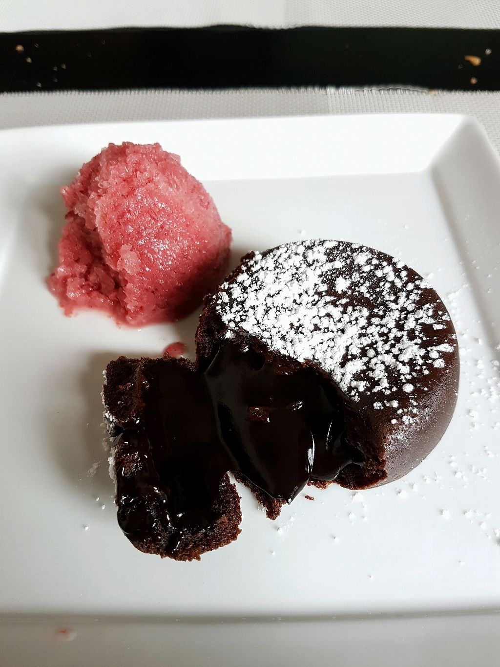 """Photo of Seitan Urban Bistro  by <a href=""""/members/profile/Olena"""">Olena</a> <br/>chocolate desert  <br/> April 7, 2018  - <a href='/contact/abuse/image/70536/381759'>Report</a>"""
