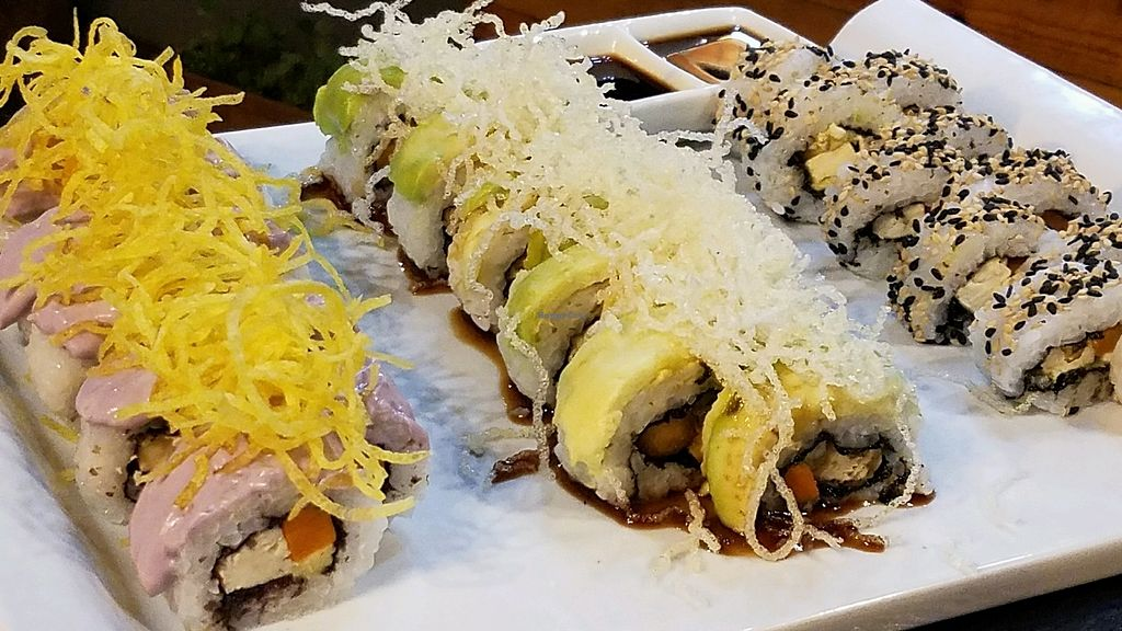 """Photo of Seitan Urban Bistro  by <a href=""""/members/profile/vtraveller"""">vtraveller</a> <br/>sushi combo plate 1 <br/> April 8, 2018  - <a href='/contact/abuse/image/70536/382243'>Report</a>"""
