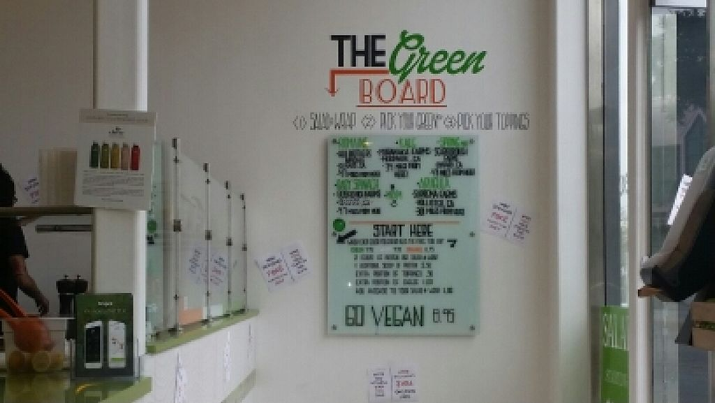 """Photo of CLOSED: Mean Greens  by <a href=""""/members/profile/kenvegan"""">kenvegan</a> <br/>vegan options  <br/> March 6, 2016  - <a href='/contact/abuse/image/70541/139027'>Report</a>"""