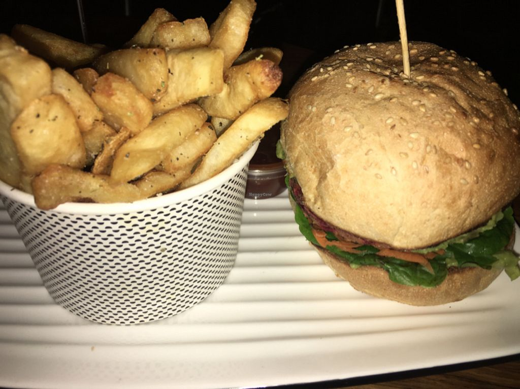 "Photo of REMOVED: Grill'd  by <a href=""/members/profile/ClarkeVincent"">ClarkeVincent</a> <br/>latest vegan burger <br/> June 11, 2016  - <a href='/contact/abuse/image/70560/153541'>Report</a>"