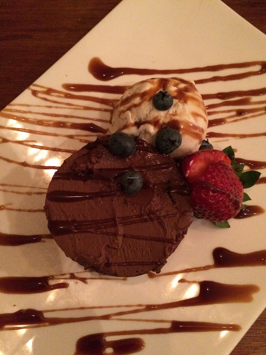 """Photo of Lemon and Thyme  by <a href=""""/members/profile/AndyV"""">AndyV</a> <br/>vegan raw chocolate cheesecake with local CoYo icecream <br/> July 9, 2017  - <a href='/contact/abuse/image/70569/278035'>Report</a>"""