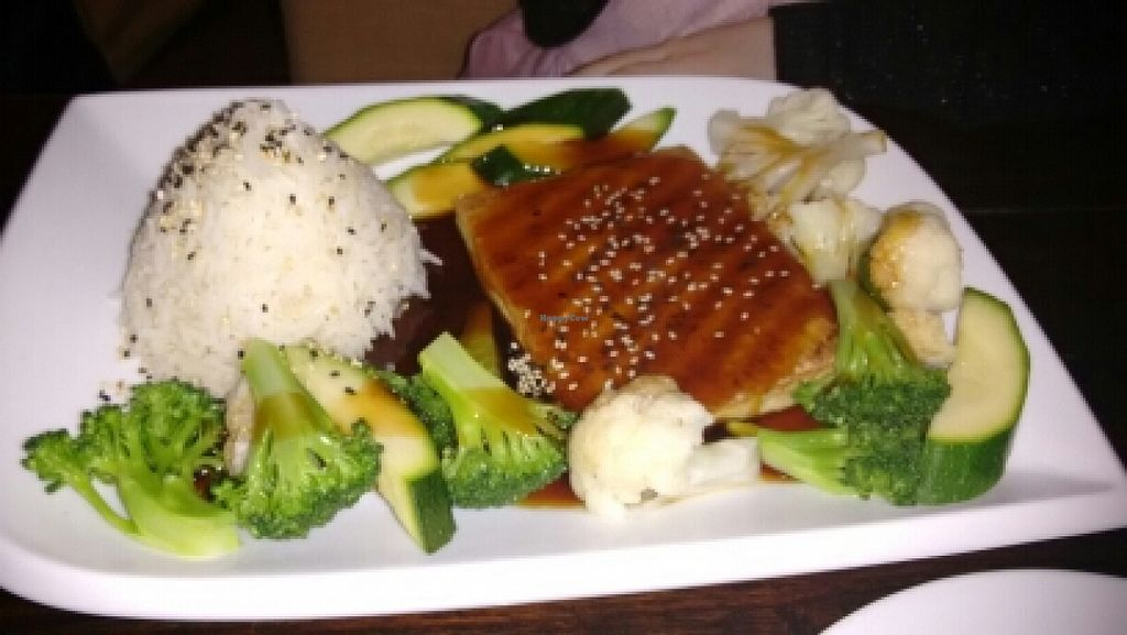 """Photo of Zen House  by <a href=""""/members/profile/craigmc"""">craigmc</a> <br/>teriyaki tofu <br/> March 31, 2016  - <a href='/contact/abuse/image/70605/142117'>Report</a>"""