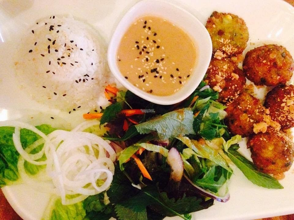 """Photo of Zen House  by <a href=""""/members/profile/Kyttiara"""">Kyttiara</a> <br/>veggie balls with peanut dip <br/> October 11, 2016  - <a href='/contact/abuse/image/70605/181470'>Report</a>"""