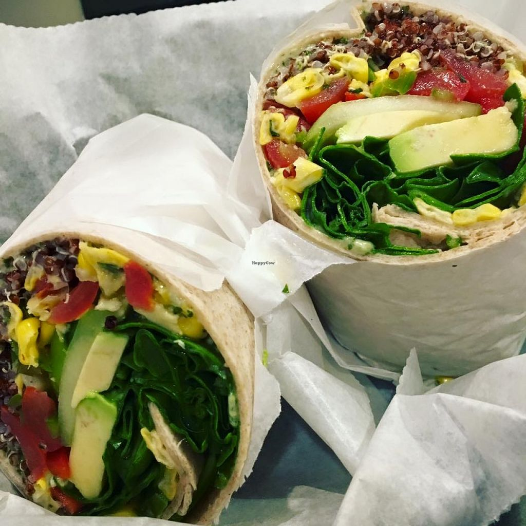 """Photo of Batata Cafe  by <a href=""""/members/profile/community"""">community</a> <br/>vegan protein wrap  <br/> March 17, 2016  - <a href='/contact/abuse/image/70607/140339'>Report</a>"""