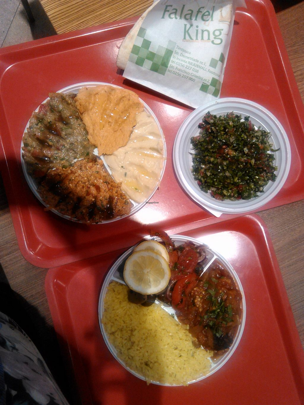 "Photo of Falafel King - Lulius Mall  by <a href=""/members/profile/alexandra_vegan"">alexandra_vegan</a> <br/>From top left to right: