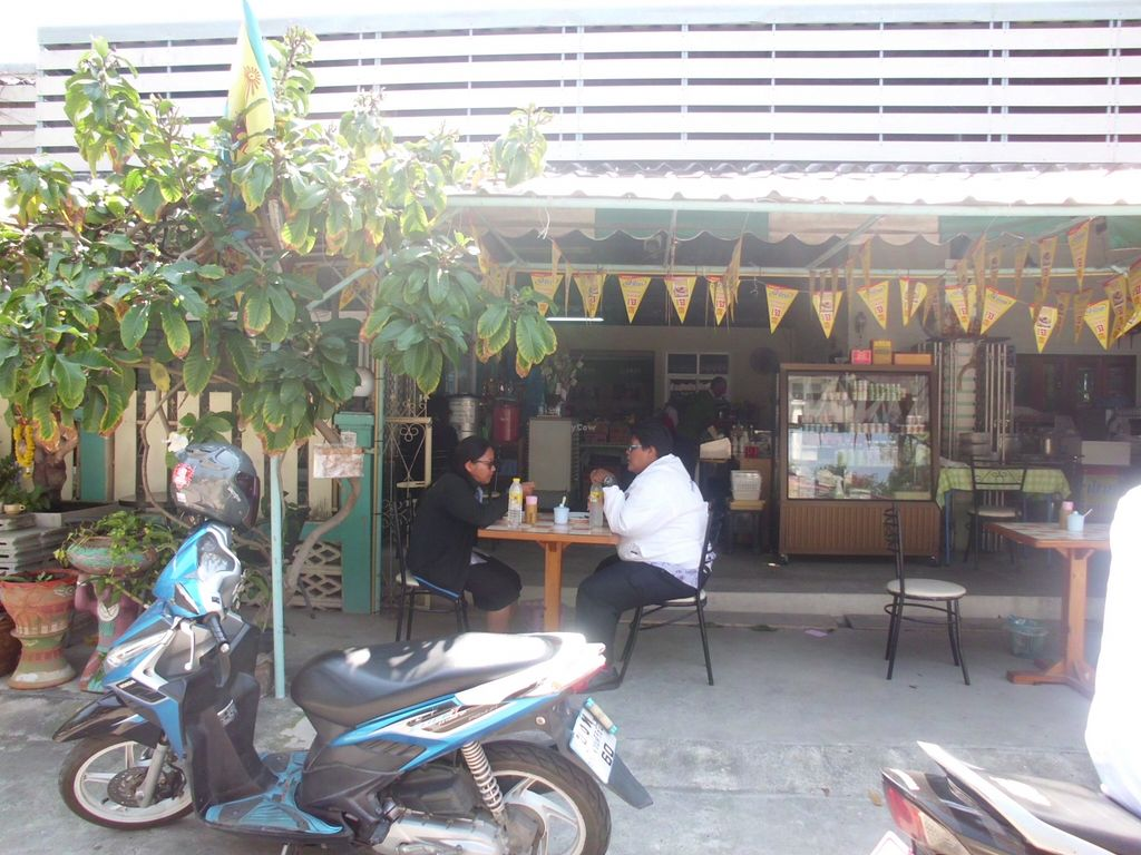 "Photo of Vegetarian Eatery & Shop  by <a href=""/members/profile/Maros"">Maros</a> <br/>View from the street <br/> March 8, 2016  - <a href='/contact/abuse/image/70635/139339'>Report</a>"