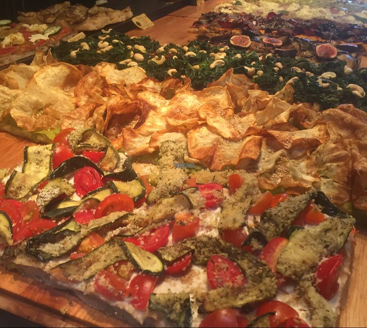 """Photo of MADENITALY  by <a href=""""/members/profile/KateEmmett"""">KateEmmett</a> <br/>vegan pizzas <br/> October 1, 2016  - <a href='/contact/abuse/image/70650/179046'>Report</a>"""