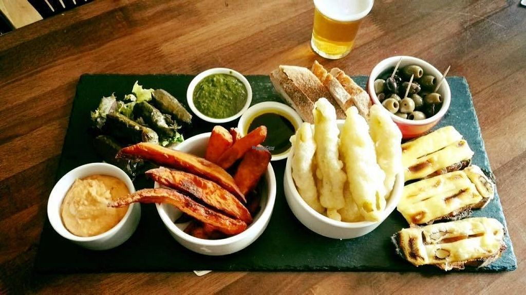 "Photo of Leith Depot  by <a href=""/members/profile/Meaks"">Meaks</a> <br/>Vegan platter <br/> August 1, 2016  - <a href='/contact/abuse/image/70675/164354'>Report</a>"