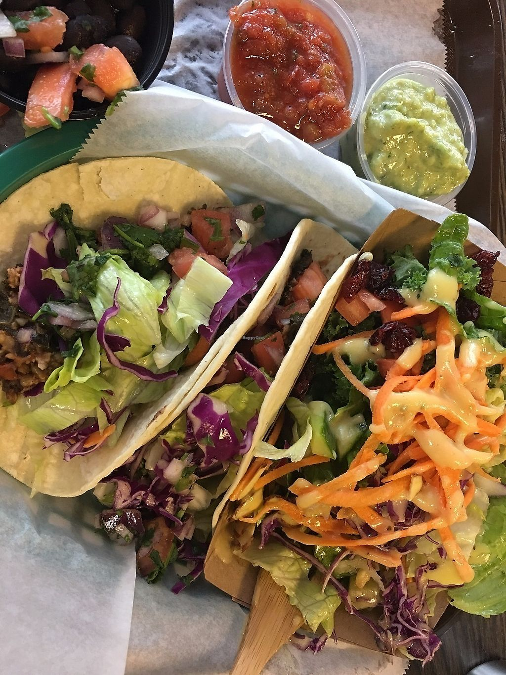 "Photo of Eatery 17  by <a href=""/members/profile/TraciH"">TraciH</a> <br/>Friday special, vegan tacos <br/> June 9, 2017  - <a href='/contact/abuse/image/70689/267366'>Report</a>"