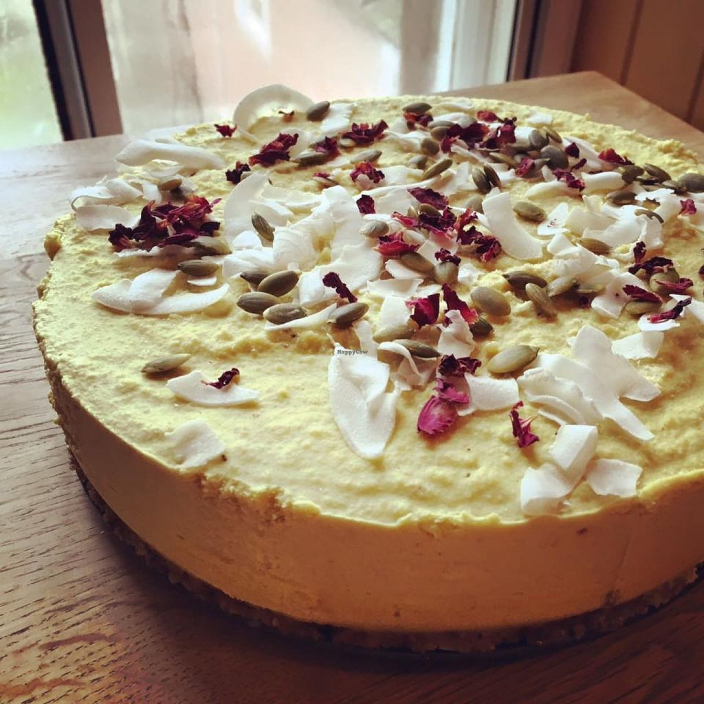"""Photo of The Sassy Coconut  by <a href=""""/members/profile/community"""">community</a> <br/>vegan cake  <br/> March 28, 2016  - <a href='/contact/abuse/image/70697/141679'>Report</a>"""