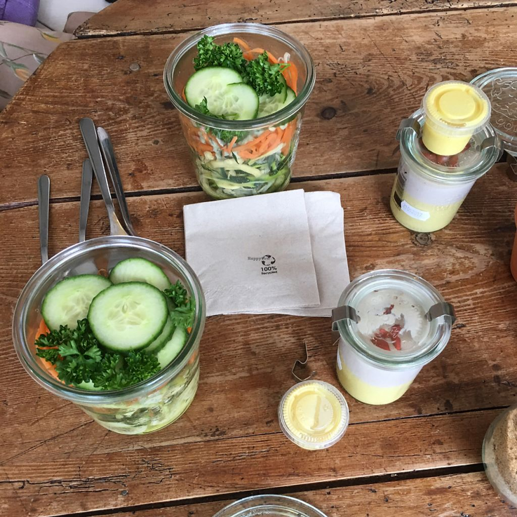 """Photo of Rawdish  by <a href=""""/members/profile/Beatrice"""">Beatrice</a> <br/>32 Euros for 2 salads and 2 deserts.  <br/> May 20, 2017  - <a href='/contact/abuse/image/70715/260581'>Report</a>"""