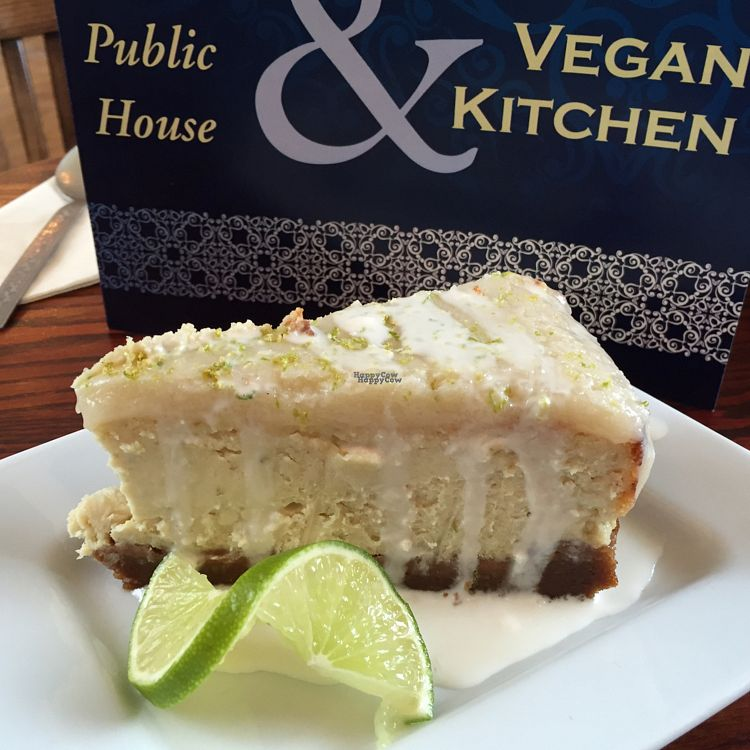 "Photo of The Peacock  by <a href=""/members/profile/Chris_D"">Chris_D</a> <br/>Vegan cheesecake <br/> September 9, 2016  - <a href='/contact/abuse/image/70771/174710'>Report</a>"