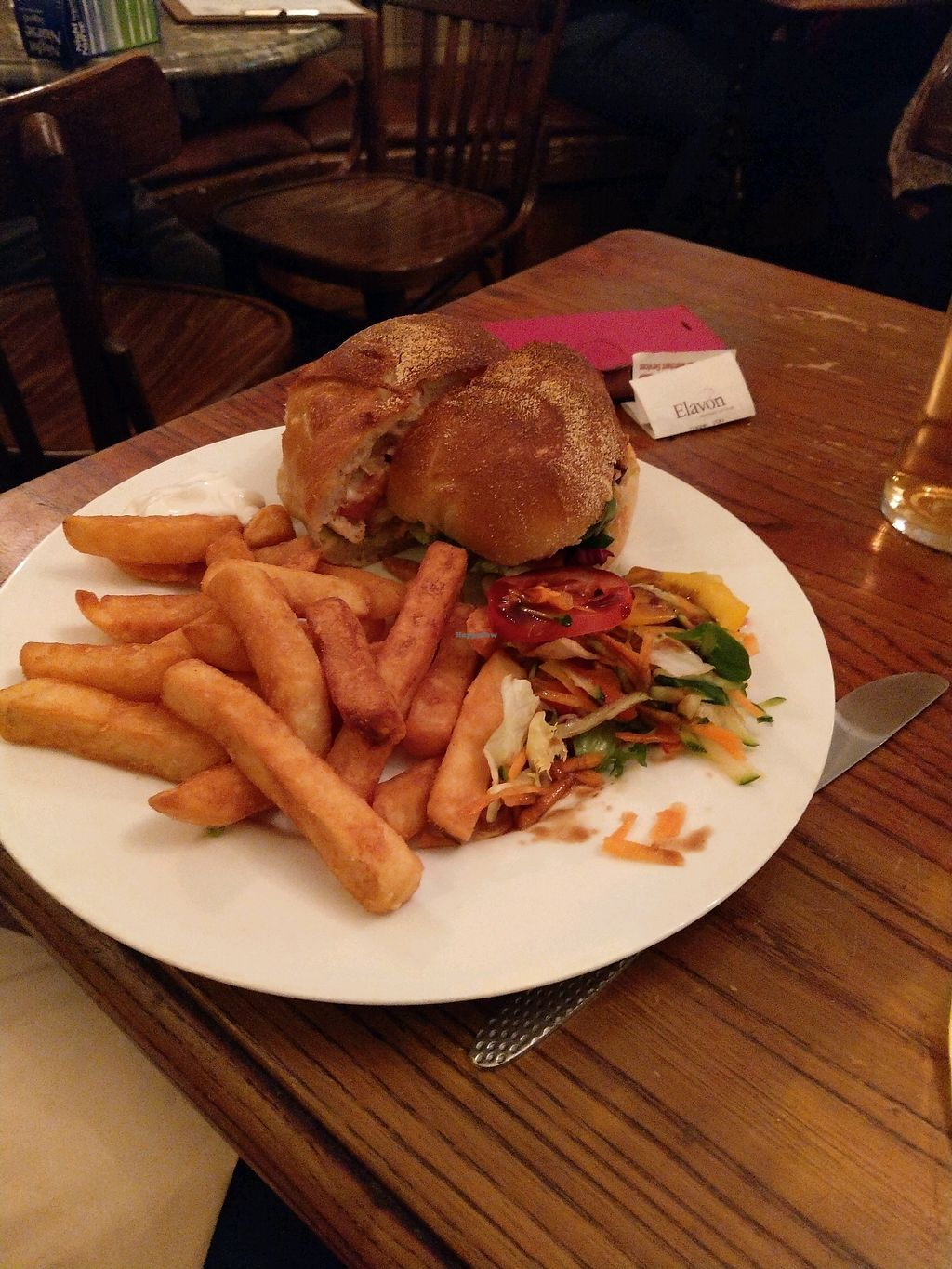"Photo of The Peacock  by <a href=""/members/profile/Garyjohn"">Garyjohn</a> <br/>Chicken Burger <br/> February 9, 2018  - <a href='/contact/abuse/image/70771/356983'>Report</a>"