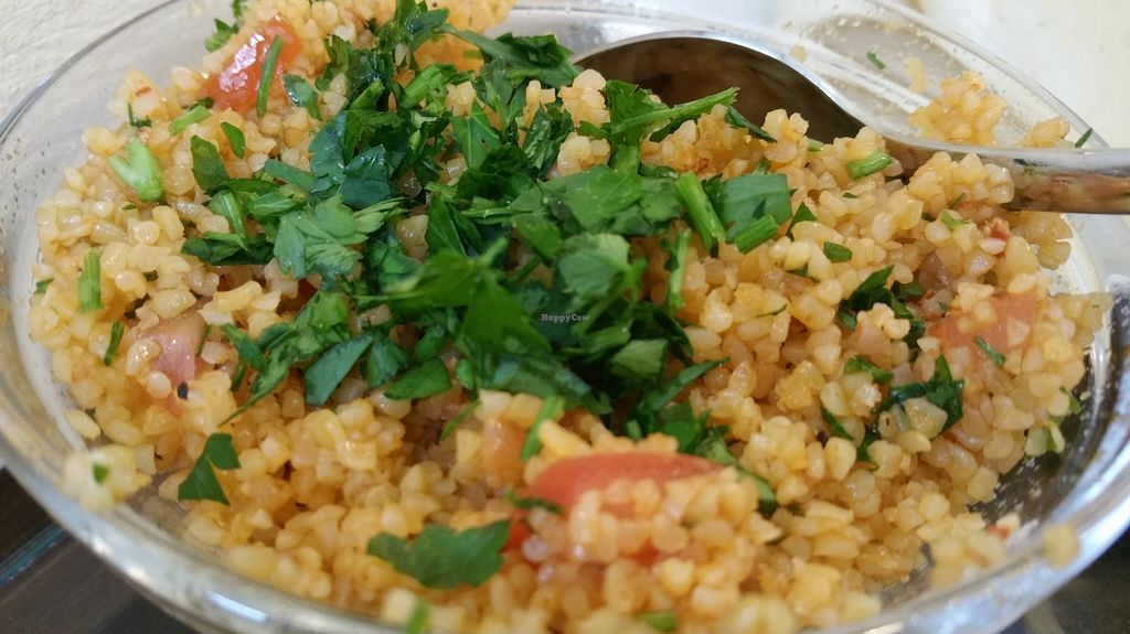 """Photo of Couscous  by <a href=""""/members/profile/Mallorcatalks"""">Mallorcatalks</a> <br/>Fresh, homemade, delicious Couscous ... LOVED IT! <br/> March 14, 2016  - <a href='/contact/abuse/image/70787/139929'>Report</a>"""