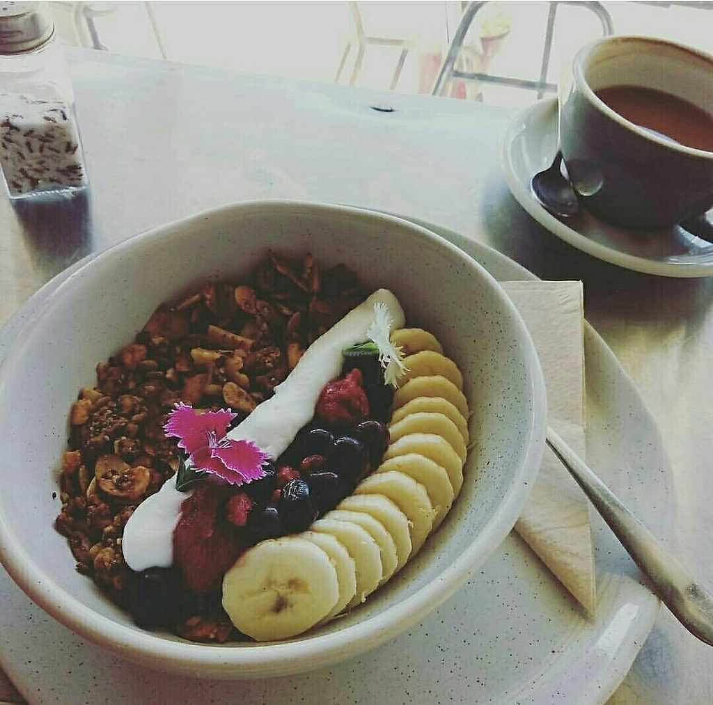 """Photo of Canopius  by <a href=""""/members/profile/jennybean678"""">jennybean678</a> <br/>Granola wity fresh fruit and coconut yogurt  <br/> July 17, 2017  - <a href='/contact/abuse/image/70794/281583'>Report</a>"""