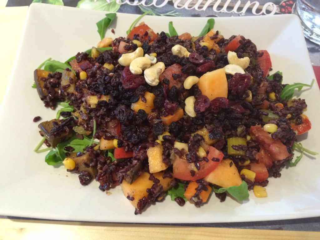"""Photo of ItreMinistri  by <a href=""""/members/profile/amn060708"""">amn060708</a> <br/>Vegan Lunch~Raisins, Rucola, Tomatoes, Cashews, Mangos, Cranberries, Raspberry Vinaigrette & More!! <br/> July 30, 2016  - <a href='/contact/abuse/image/70802/163408'>Report</a>"""