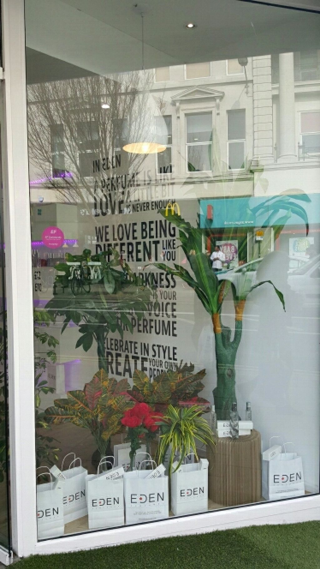 """Photo of Eden Perfumes - Western Rd  by <a href=""""/members/profile/Clare"""">Clare</a> <br/>window display <br/> March 12, 2016  - <a href='/contact/abuse/image/70807/139736'>Report</a>"""