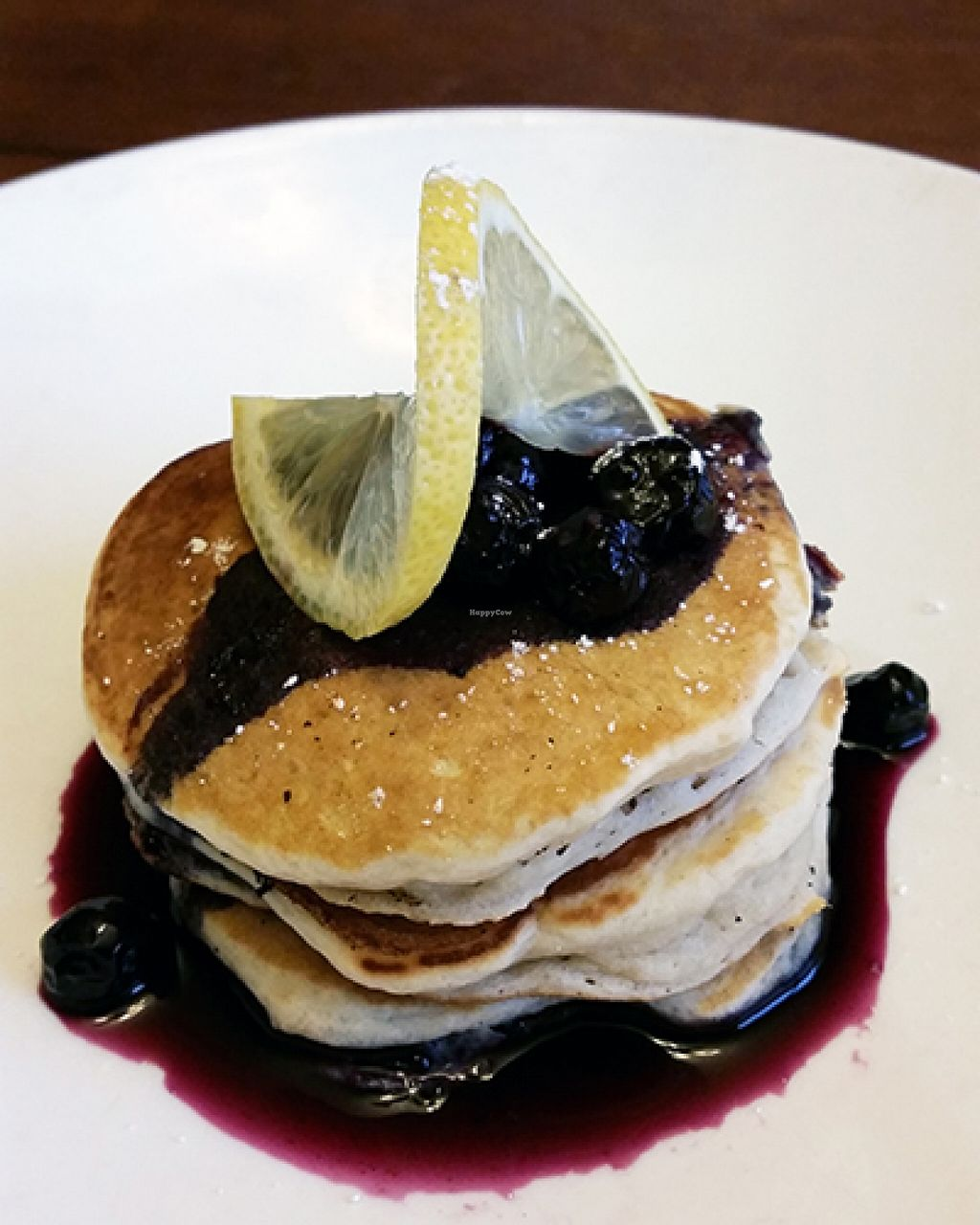 """Photo of A Broken Angel - Food Cart  by <a href=""""/members/profile/Beezelbarb"""">Beezelbarb</a> <br/>silver dollar pancakes with blueberry syrup <br/> March 13, 2016  - <a href='/contact/abuse/image/70816/139901'>Report</a>"""