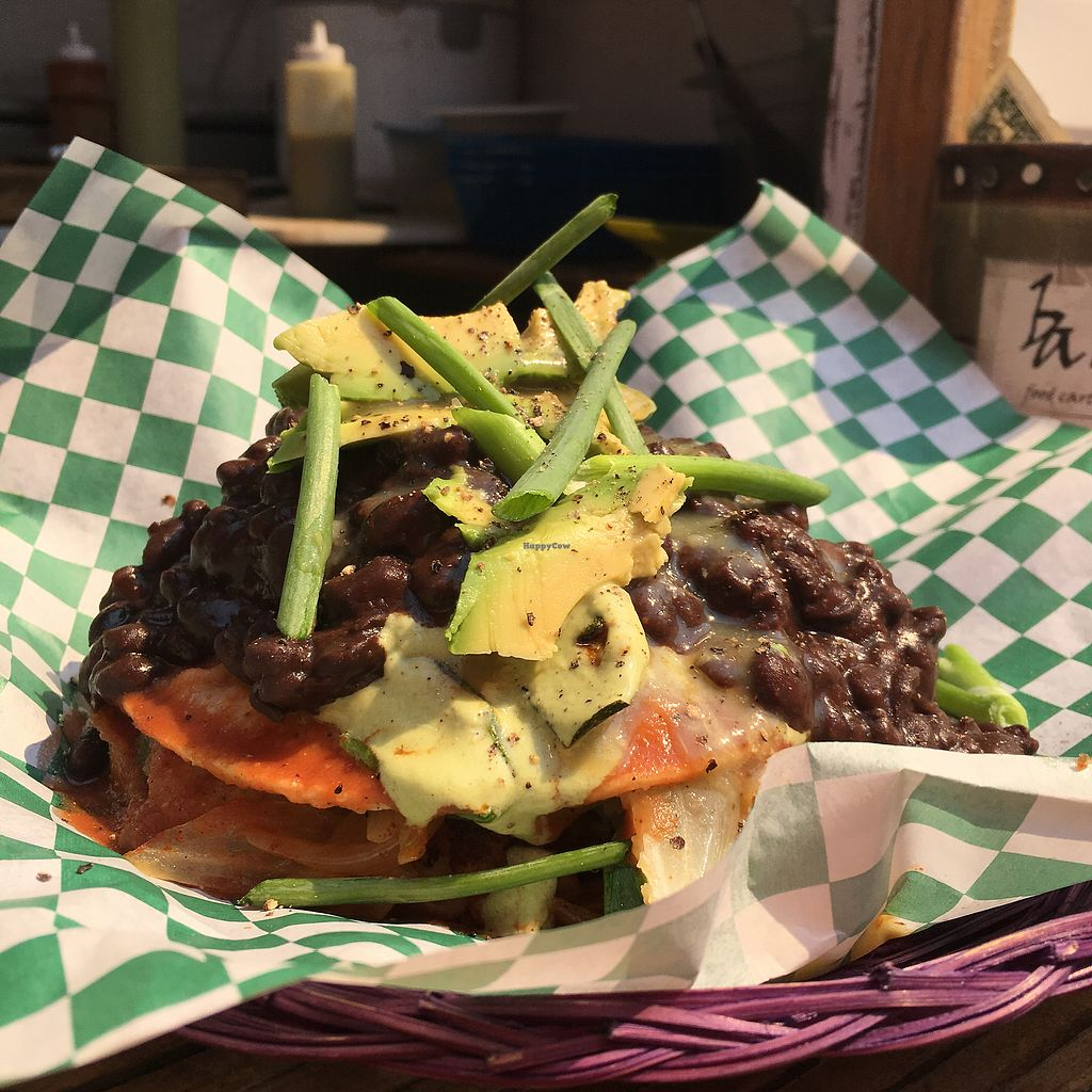 """Photo of A Broken Angel - Food Cart  by <a href=""""/members/profile/fbatzer%40gmail.com"""">fbatzer@gmail.com</a> <br/>Enchilada Short Stack <br/> August 17, 2017  - <a href='/contact/abuse/image/70816/293772'>Report</a>"""